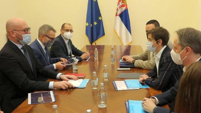 srbija.gov.rs: Premijerka Ana Brnabić razgovarala je danas sa generalnim direktorom kompanije NIS Kirilom Turdenjevim