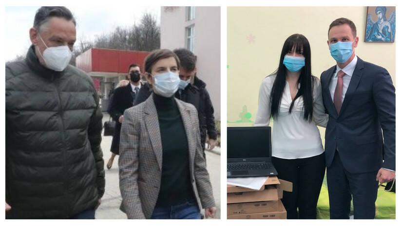 Ana Brnabić u Zaječaru, Siniša Mali u Kosjeriću Foto: Vlada Srbije