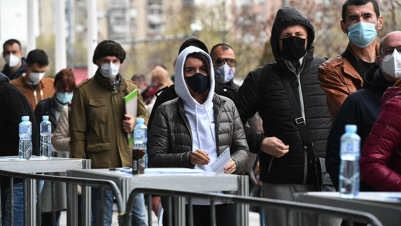 Vakcinacija protiv koronavirusa u Beogradu Foto: Srđan Ilić