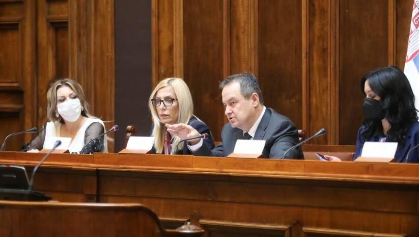 Sednica Odbora za ustavna pitanja i zakonodavstvo o promena Ustava Foto: FoNet