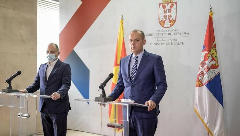 Venko Filipče i Zlatibor Lončar Foto: Ministarstvo zdravlja