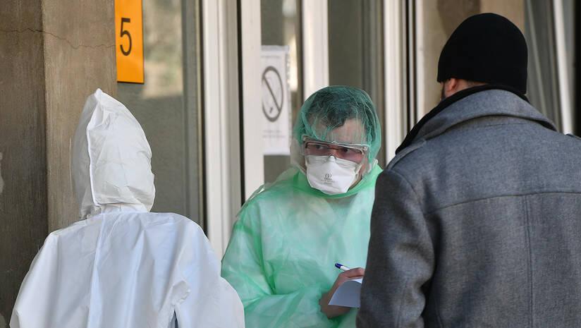 Infektivna klinika u Beogradu, koronavirus Foto: Srđan Ilić