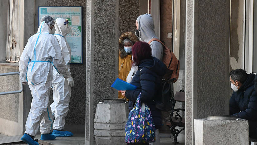 Infektivna klinika Kliničkog centra Srbije, koronavirus Foto: Srđan Ilić