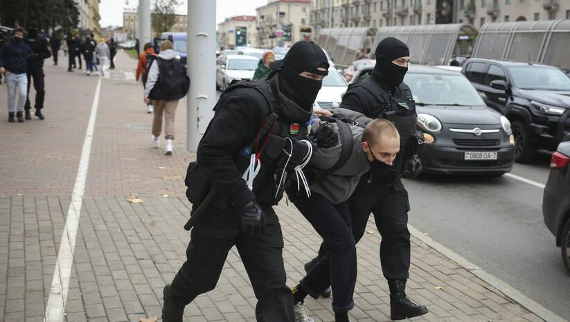 BetaPhoto: Hapšenje demonstranata u Belorusiji