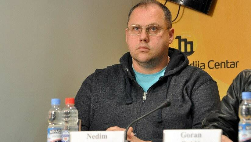 Belgrade Media Center: President of the NDNV Nedim Sejdinovic