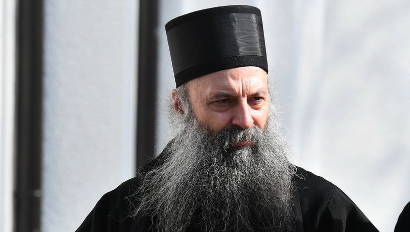 Novoizabrani patrijarh Porfirije Foto: Srđan Ilić