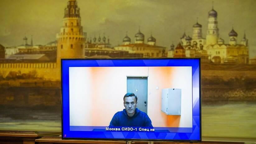 Aleksej Navaljni prilikom izjašnjavanja pred sudom Foto: Alexander Zemlianichenko/Betaphoto
