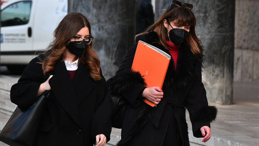 Beogradske ulice tokom pandemije koronavirusa, decembar 2020. Foto: Srđan Ilić