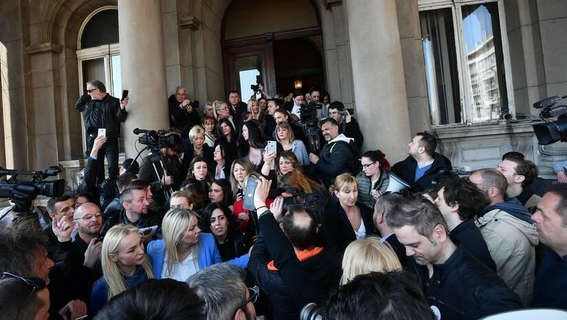 Srđan Ilić: Blokada zgrade gradske uprave