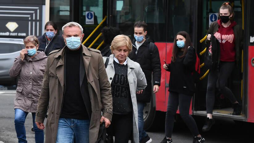 Beogradske ulice tokom epidemije koronavirusa, oktobar 2020 Foto: Srđan Ilić