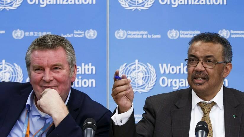 Generalni direktor Svetske zdravstvene organizacije Tedros Adhanom Gebrejesus, direktor SZO Foto: Salvatore Di Nolfi/Keystone via AP/Betaphoto