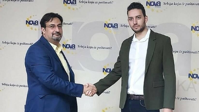 Aris Movsesijan i Pavle Grbović, Foto: Nova stranka