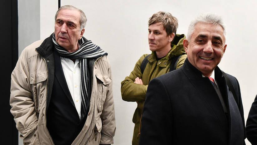 Milan Jovanović  i Dragoljub Simonović Foto: Srđan Ilić