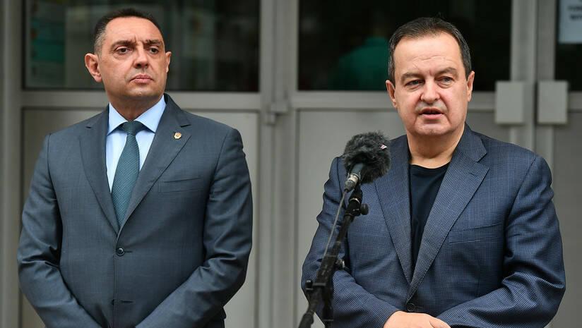 Aleksandar Vulin i Ivica Dačić Foto: Srđan Ilić
