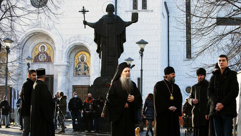 Dolazak crkvenih velikodostojnika na izbor novog patrijarha SPC Foto: Srđan Ilić