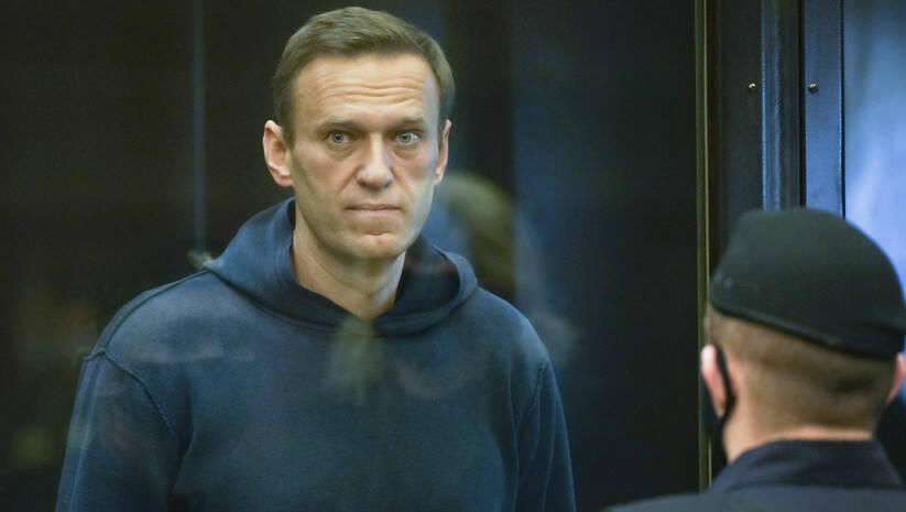 Aleksej Navaljni u moskovskom sudu Foto:  Moscow City Court via AP/Betaphoto