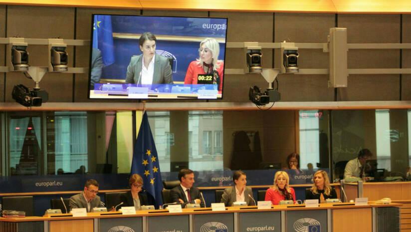 Vlada Srbije: Ana Brnabić u EP