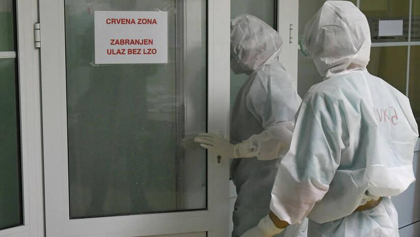Vojna bolnica na Karaburmi, koronavirus Foto: Ministarstvo odbrane