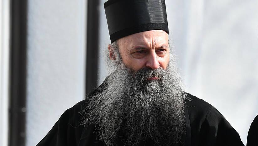 Novoizabrani patrijarh Porfirije, danas uoči sednice Sabora Foto: Srđan Ilić