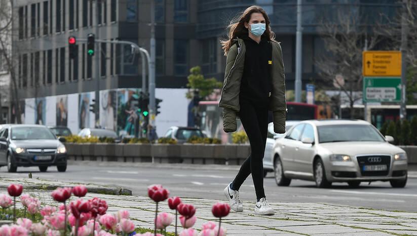 Beogradske ulice tokom epidemije koronavirusa, april 2021. Foto: Srđan Ilić