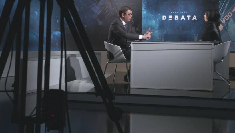 Aleksandar Vučić i Brankica Stanković