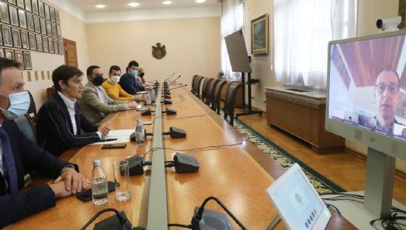 srbija.gov.rs: Razgovor sa šefom Misije MMF-a Janom Kesom Martejnom